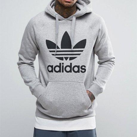 Adidas Originals Kapuzenpullover Grau