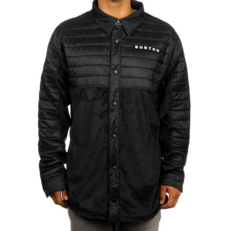 Burton Hemd Backside Fleece Schwarz