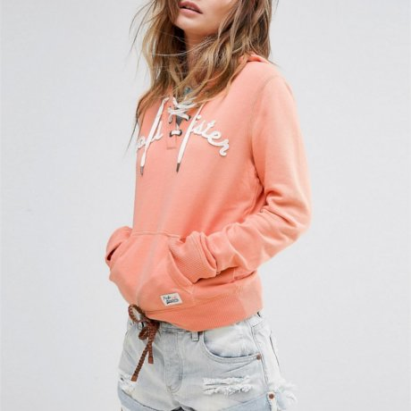 Hollister Hoody Orange
