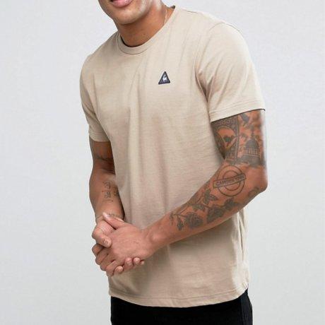 Le Coq Sportif T-Shirt Beige