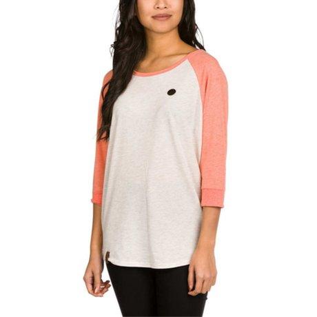 Naketano T-Shirt Weiss Coral