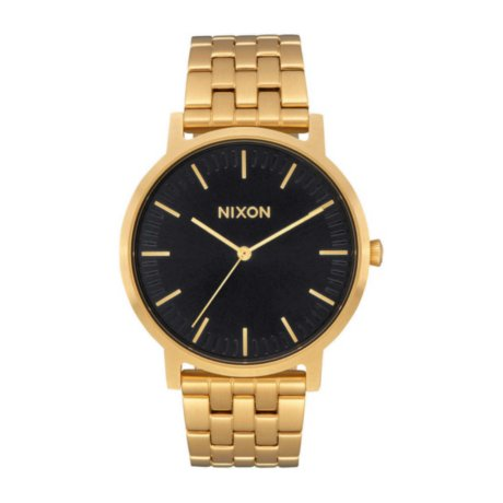 Nixon The Porter Uhr Gold