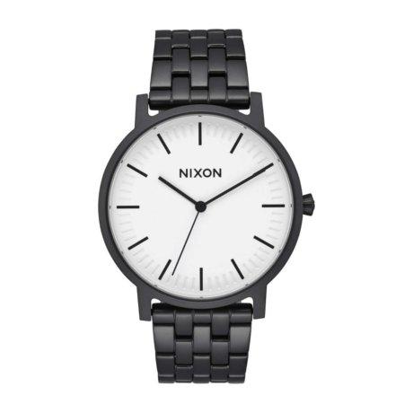 Nixon The Porter Uhr Schwarz Weiß