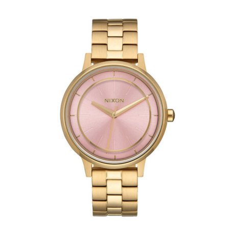 Nixon Uhr The Kensington Gold Pink
