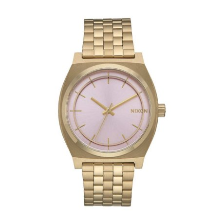 Nixon Uhr The Time Teller Gold Pink