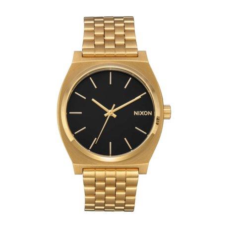 Nixon Uhr The Time Teller Gold Schwarz