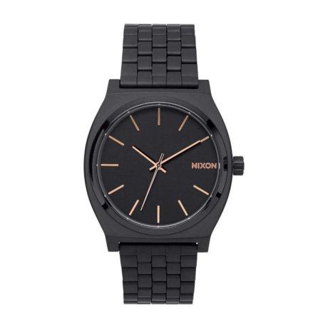 Nixon Uhr The Time Teller Schwarz