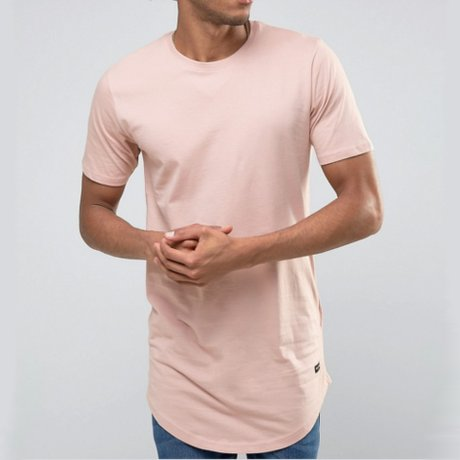 Only & Sons T-Shirt Superlang Rosa